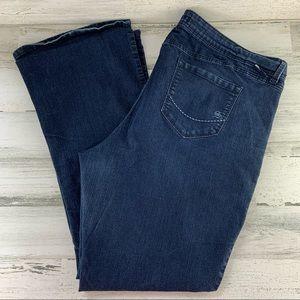 TORRID Source of Wisdom Blue Jeans Size 24